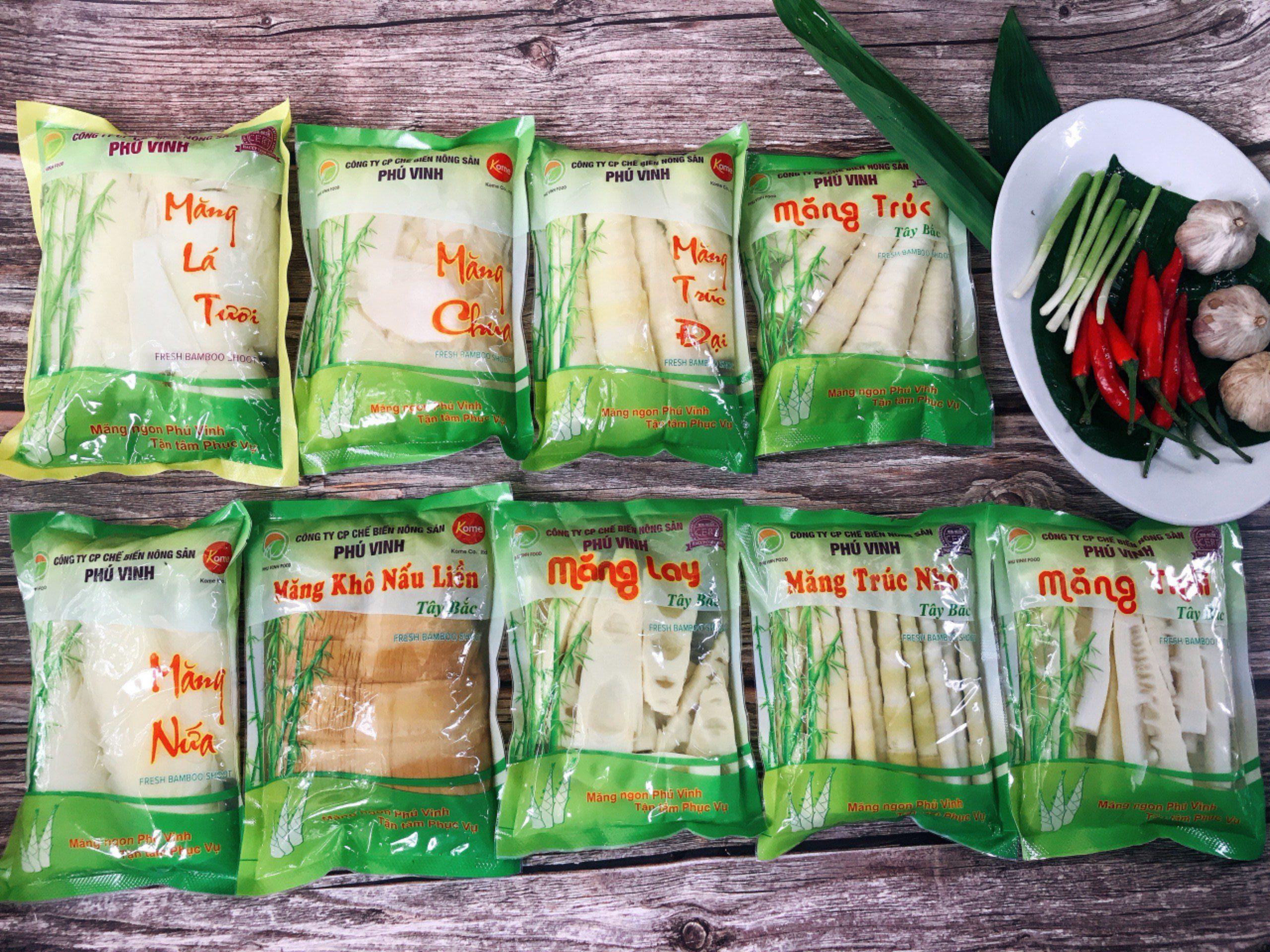 Măng Phú Vinh - Nôn sản Phú Vinh