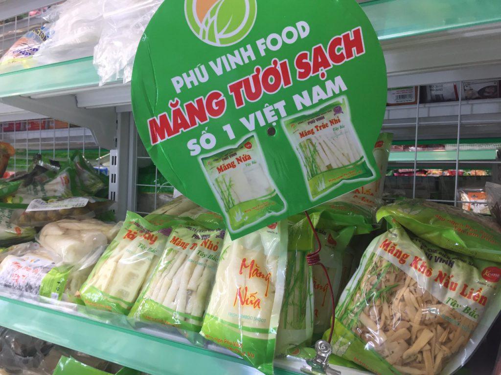 măng tươi Phú Vinh